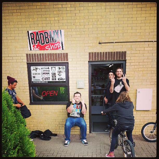 #squashit prem at @radbmxshop