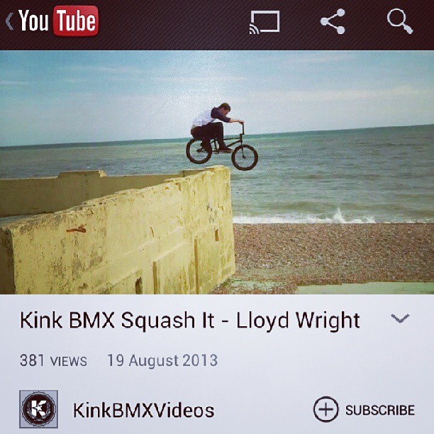@kinkbikes have just out our full length dvd
