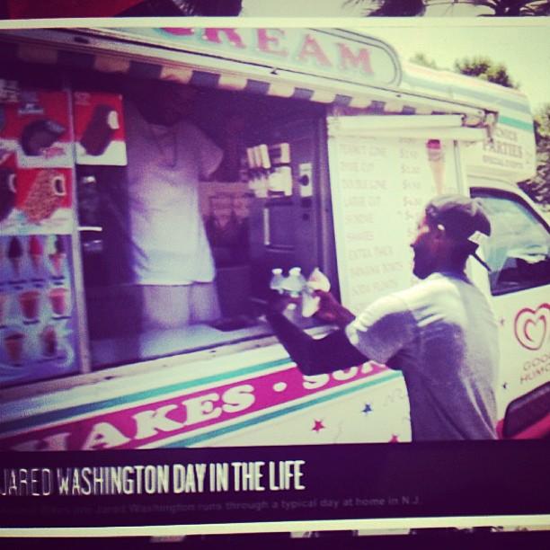 Day in the life of @jaredwashington #espn go watch it